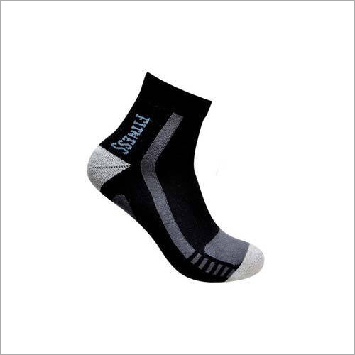 Mens Fancy Ankle Terry Socks