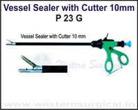 Vessel Sealer with Cutter 10 mm