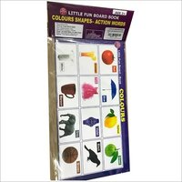 Paper Board Book  Color Shapes  And Action Word