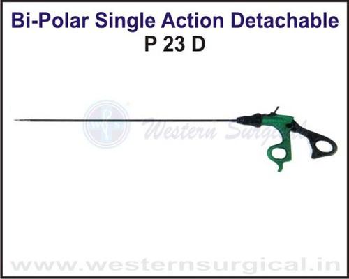 Bi-Polar Single Action Detachable