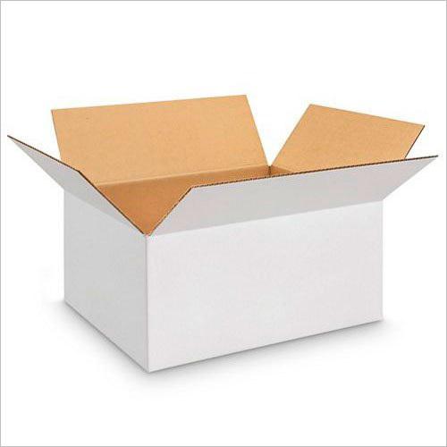Duplex White Corrugated Box