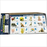 Paper Board Book Alphabet And Numbers