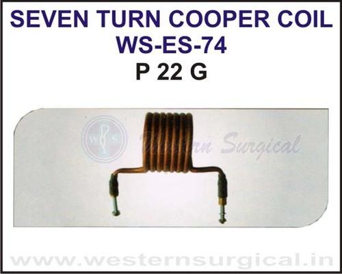 Seven Turn Cooper Coil