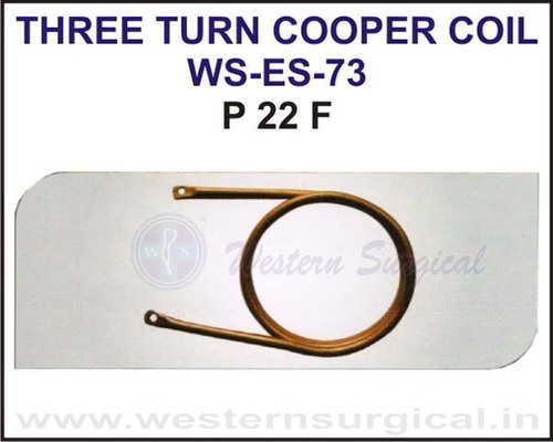Three Turn Cooper Coil