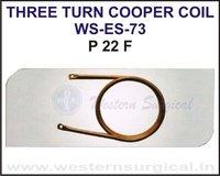 Three Turn Cooper Coil
