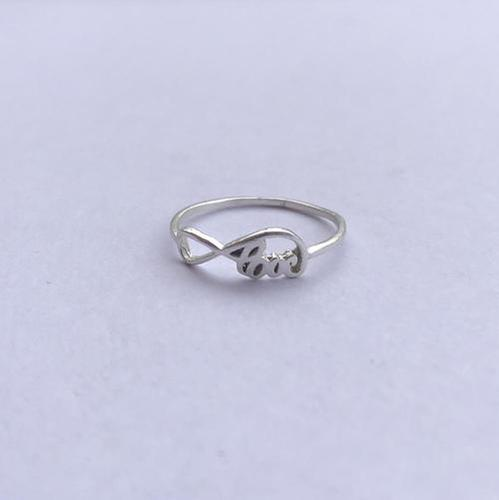Jewelry - Infinity Love Band Ring in 925 Sterling Silver Manufacturer