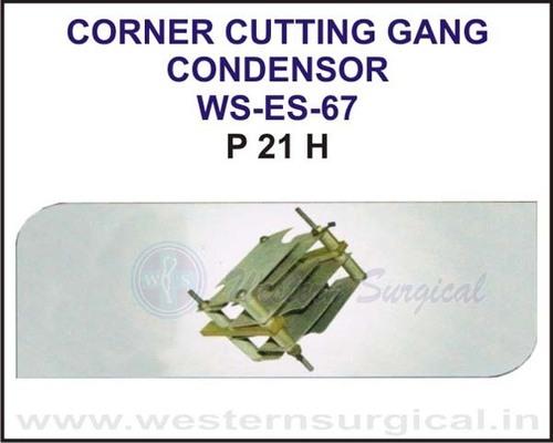 Corner Cutting Gang Condensor