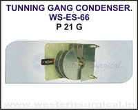 Tunning Gang Condenser