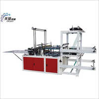 High Speed Double Lines Heat Sealing And Cold Cutting Bag Making Machine