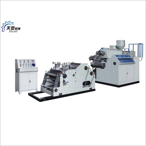 Two Layers Stretch Film Making Machine
