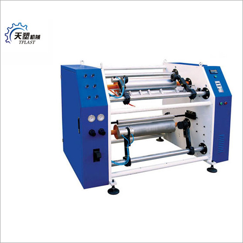 RGRW-500 Stretch Film Rewinding Slitter Machine