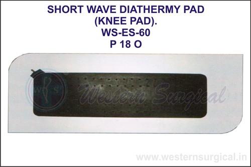 Short Wave Diathermy Pad (Knee Pad)