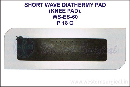 Short Wave Diathermy Pad (Knee Pad)