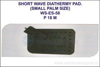 Short Wave Diathermy Pad(Small Palm Size)