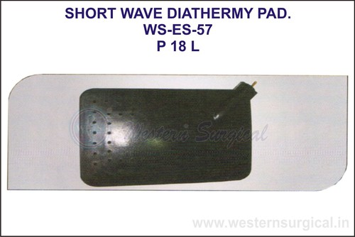 Short Wave Diathermy Pad