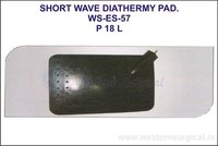 Short Wave Diathermy Pad