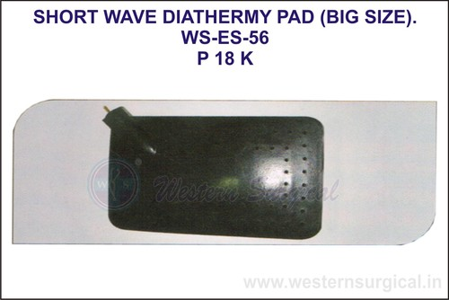 Short Wave Diathermy Pad(Big Size)