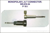 Monopolar L & T Connector