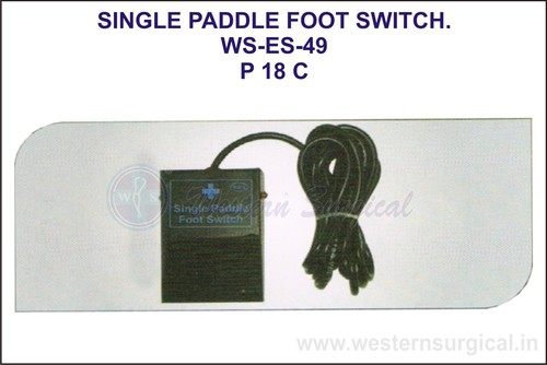 Single  Paddle Foot Switch