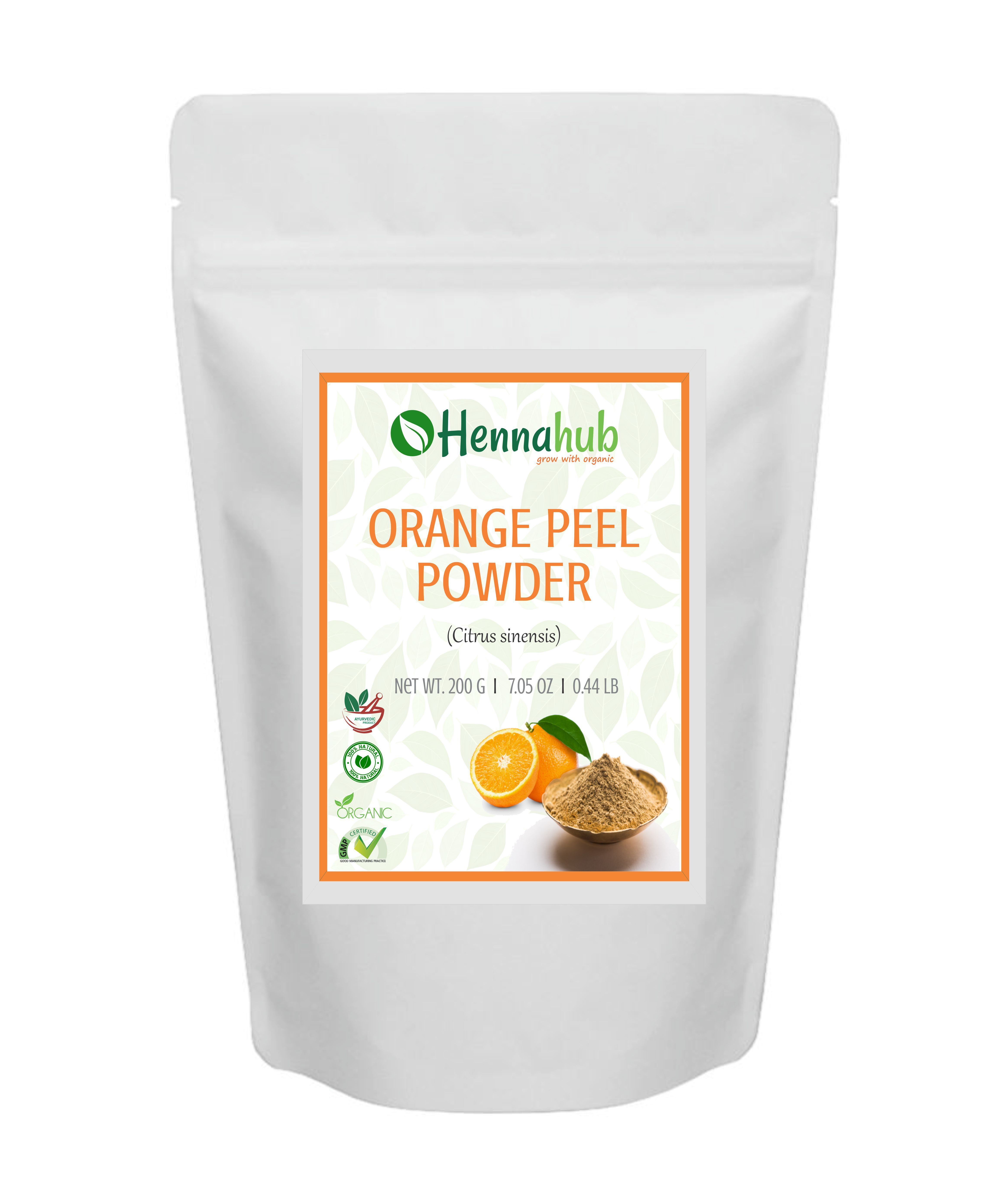 Natural Orange Peel Powder