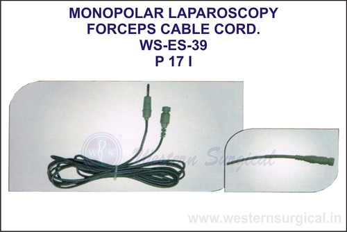 Monopolar Laparoscopy Forceps Cable Cord