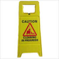 PVC Caution Wet Floor Board