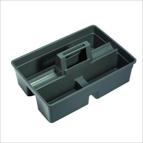 Plastic Rectangular Caddy Basket