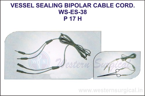Vessel Sealing Bipolar Cable Cord