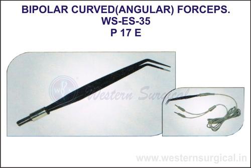Bipolar Curve (Angular) Forceps