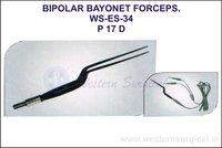 Bipolar Bayonet Forceps
