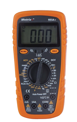 Digital Multimeter 603A+