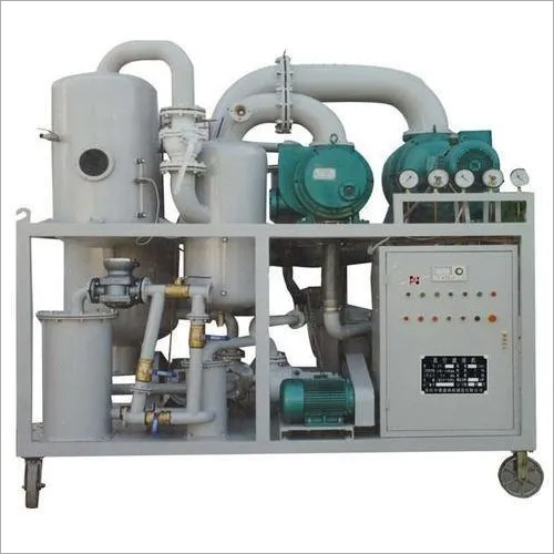 100 LPH Oil Filtration Machine