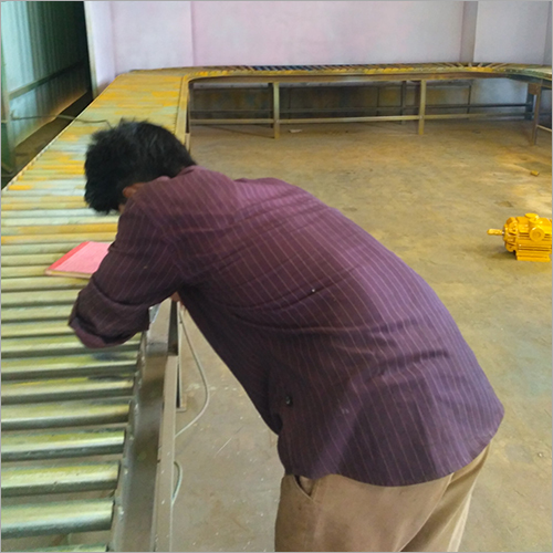 Roller Conveyor Sray Booth AMC Services