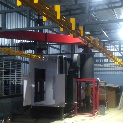 Manual Conveyor Booth