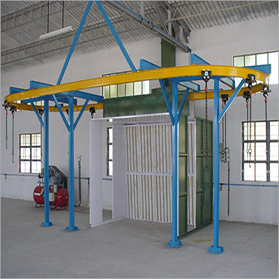 Dry Type With I Beam Conveyor Booth