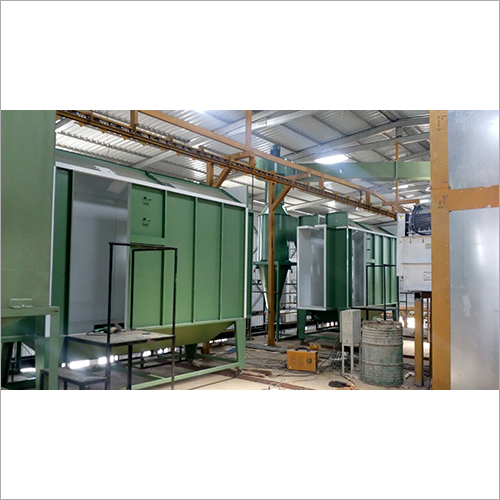 Industrial Conveyor Booth