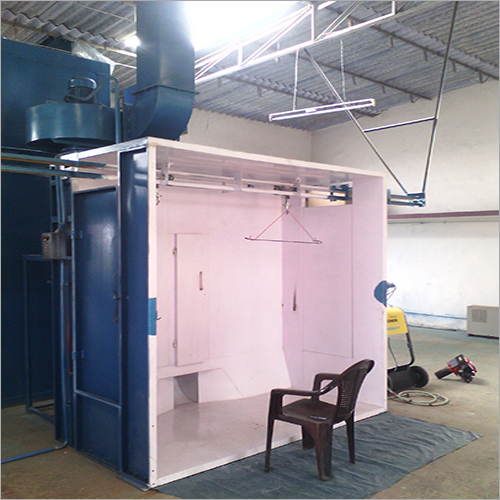 Flat Type Powder Coating Booth