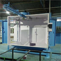 Side Door Powder Coating Booth
