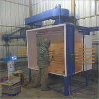 Aluminium Powder Coating Booth