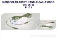 Monopolar Active Handle Cable Cord