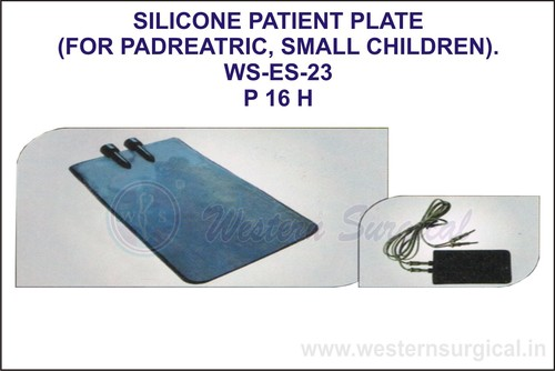 Silicone Patient Plate (For Padreatric, Small Children)