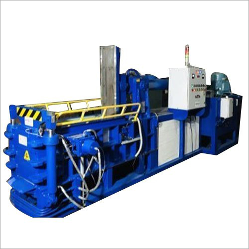 Hydraulic Double Compression Scrap Baling Press Machine