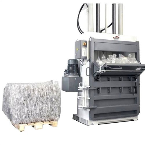 Vertical PET Bottles Baler Machine