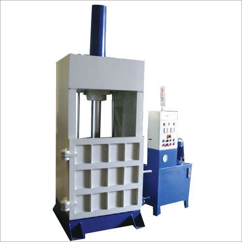 Vertical Scrap Baler Machine
