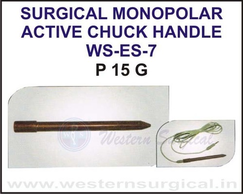 Surgical Monopolar Active Chuck Handle
