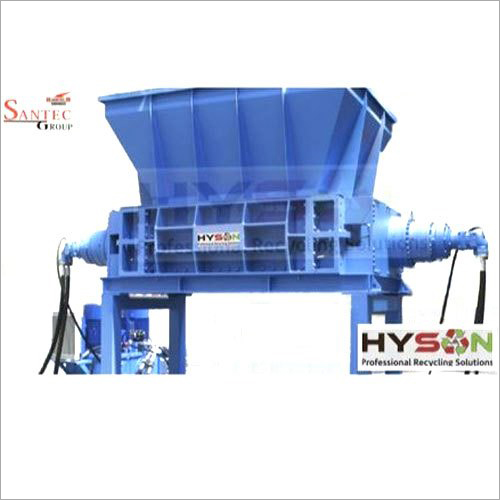 Twin Shaft Rotary Shredder