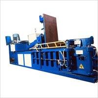 Triple Compression Scrap Baling Press