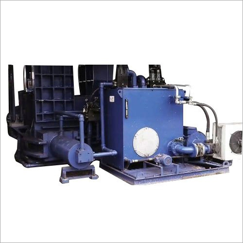 High Density Hydraulic Continuous Baling Machine