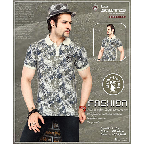 Designer Polo T-Shirt