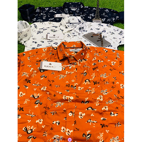 Mens Fancy Printed Shirt